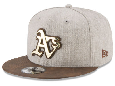 Oakland Athletics New Era MLB Oatmeal O'Gold 9FIFTY Snapback Cap