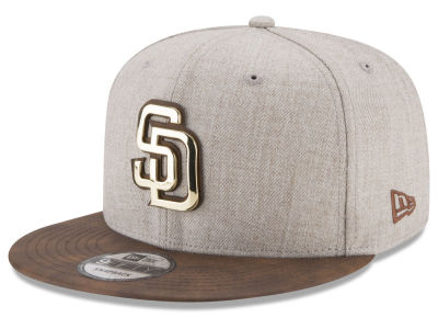 San Diego Padres New Era MLB Oatmeal O'Gold 9FIFTY Snapback Cap