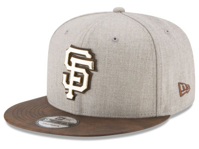 San Francisco Giants New Era MLB Oatmeal O'Gold 9FIFTY Snapback Cap