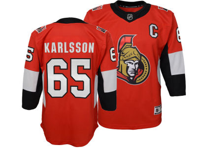 Ottawa Senators Erik Karlsson NHL Branded NHL Youth Premier Player Jersey