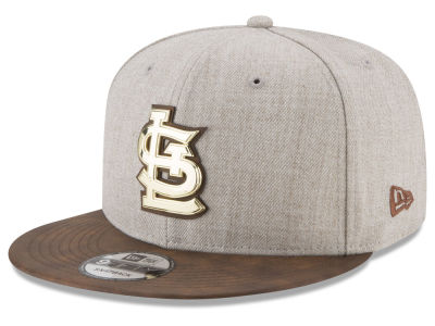 St. Louis Cardinals New Era MLB Oatmeal O'Gold 9FIFTY Snapback Cap