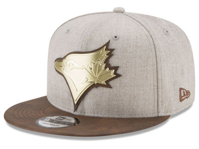 Toronto Blue Jays New Era MLB Oatmeal O'Gold 9FIFTY Snapback Cap