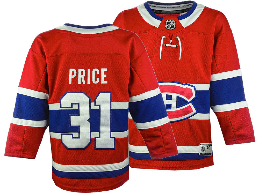 Montreal Canadiens Carey Price NHL Branded NHL Kids Premier Player Jersey  0556d1cba5e