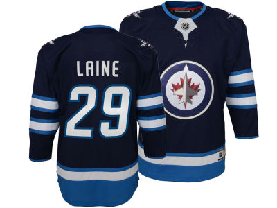 Winnipeg Jets Patrik Laine NHL Branded NHL Kids Premier Player Jersey