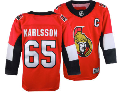 Ottawa Senators Erik Karlsson NHL Branded NHL Kids Premier Player Jersey