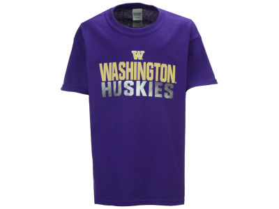 Washington Huskies J America NCAA Youth Stack Sheen T-Shirt