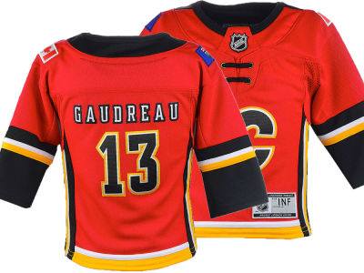 Calgary Flames Johnny Gaudreau NHL Branded NHL Infant Premier Player Jersey