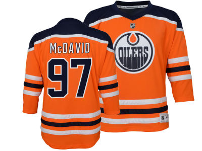 Edmonton Oilers Connor McDavid NHL Branded NHL Kids Replica Player Jersey