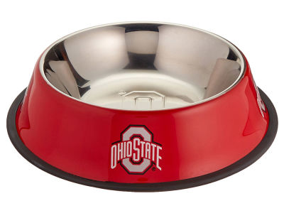 Ohio State Buckeyes Stainless Steel Pet Bowl