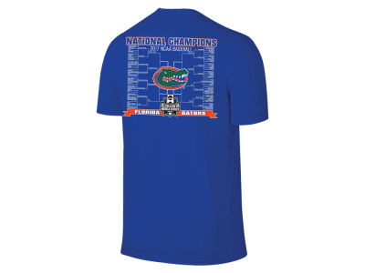 Florida Gators Retro Brand 2017 NCAA Men's College World Series Champ Bracket T-shirt