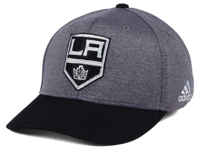 Los Angeles Kings adidas NHL Shortside Flex Cap