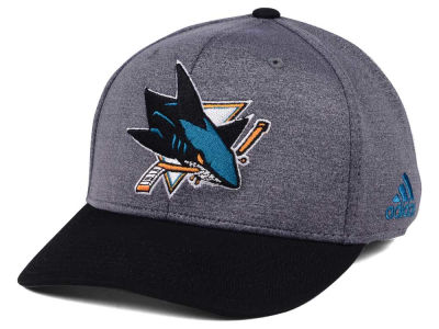 San Jose Sharks adidas NHL Shortside Flex Cap