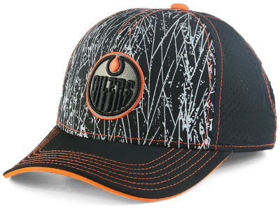 Edmonton Oilers NHL Youth On-Ice Structured Adjustable Cap