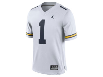 Michigan Wolverines Jordan NCAA Replica Football Game Jersey