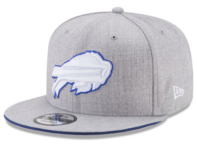 Buffalo Bills New Era NFL Heather Hot 9FIFTY Snapback Cap