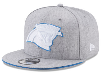 Carolina Panthers New Era NFL Heather Hot 9FIFTY Snapback Cap