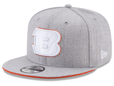 Cincinnati Bengals New Era NFL Heather Hot 9FIFTY Snapback Cap