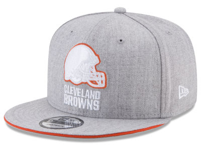 Cleveland Browns New Era NFL Heather Hot 9FIFTY Snapback Cap