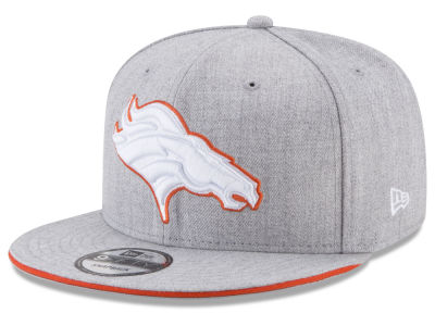 Denver Broncos New Era NFL Heather Hot 9FIFTY Snapback Cap