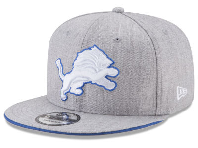 Detroit Lions New Era NFL Heather Hot 9FIFTY Snapback Cap