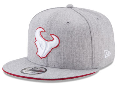 Houston Texans New Era NFL Heather Hot 9FIFTY Snapback Cap