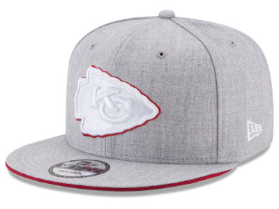 Kansas City Chiefs New Era NFL Heather Hot 9FIFTY Snapback Cap