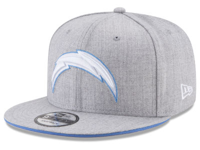 Los Angeles Chargers New Era NFL Heather Hot 9FIFTY Snapback Cap