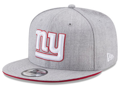 New York Giants New Era NFL Heather Hot 9FIFTY Snapback Cap