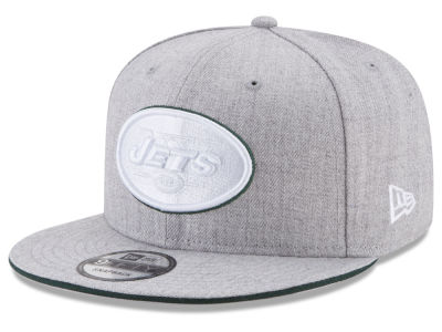 New York Jets New Era NFL Heather Hot 9FIFTY Snapback Cap