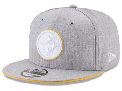 Pittsburgh Steelers New Era NFL Heather Hot 9FIFTY Snapback Cap