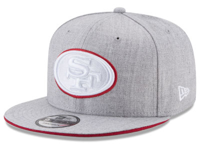 San Francisco 49ers New Era NFL Heather Hot 9FIFTY Snapback Cap