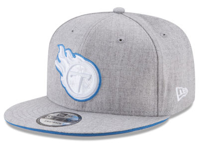 Tennessee Titans New Era NFL Heather Hot 9FIFTY Snapback Cap