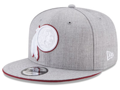 Washington Redskins New Era NFL Heather Hot 9FIFTY Snapback Cap