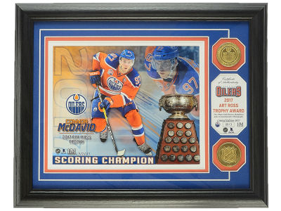 Edmonton Oilers Connor McDavid Art Ross - Dual Coin