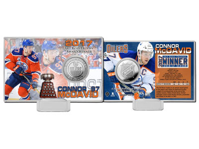 Edmonton Oilers Connor McDavid Art Ross - Coin Card