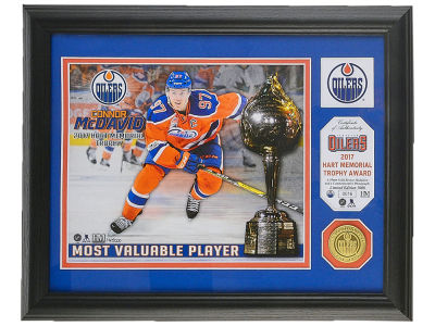 Edmonton Oilers Connor McDavid Hart Memorial - Single Coin