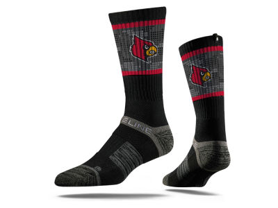 Louisville Cardinals NCAA Strideline Crew Socks II