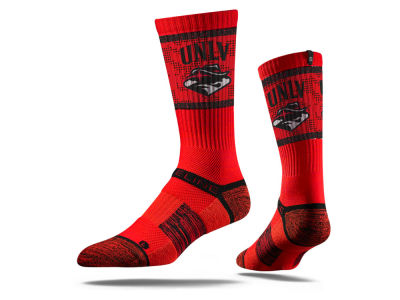 UNLV Runnin Rebels Strideline NCAA Strideline Crew Socks II