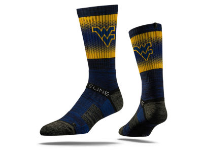 West Virginia Mountaineers Strideline NCAA Strideline Crew Socks II