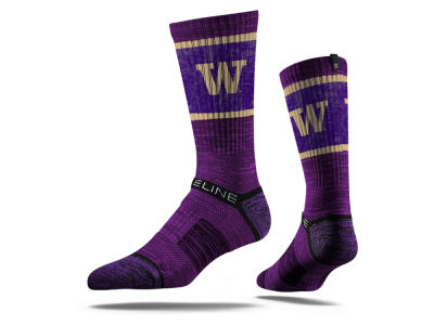 Washington Huskies NCAA Strideline Crew Socks II
