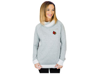 Louisville Cardinals Gameday Couture NCAA Women's Cozy Cowl Neck Pullover