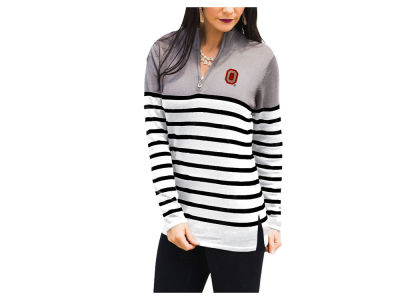 Ohio State Buckeyes Gameday Couture NCAA Women's Perfectly Prepped Quarter Zip Pullover