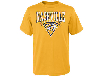 Nashville Predators adidas NHL Youth Banner Season T-Shirt