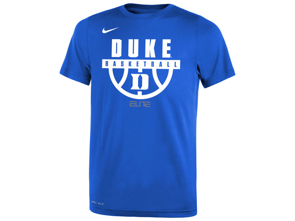 Duke Blue Devils Nike NCAA Youth Basketball Legend Logo T-Shirt ... 1ff89ff39