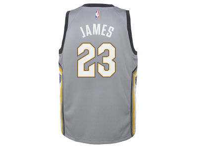 Cleveland Cavaliers LeBron James Nike NBA Youth City Edition Swingman Jersey