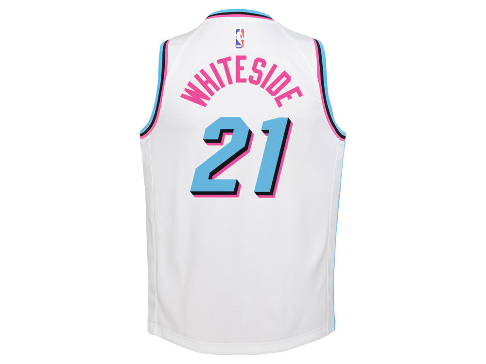 reputable site c238b 69c76 ... italy miami heat hassan whiteside nike nba youth city edition swingman  jersey 0e7b1 5acec