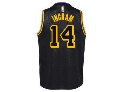 Los Angeles Lakers Brandon Ingram NBA Youth City Edition Swingman Jersey
