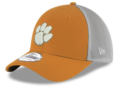 Clemson Tigers New Era NCAA Mesh Back Gray Neo 39THIRTY Cap