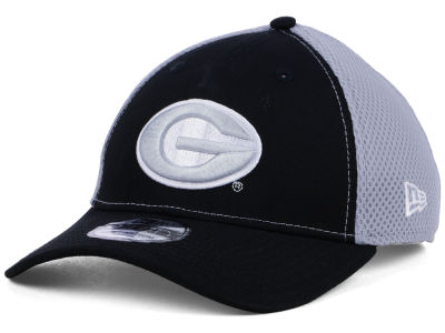Georgia Bulldogs New Era NCAA Mesh Back Gray Neo 39THIRTY Cap