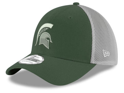 Michigan State Spartans New Era NCAA Mesh Back Gray Neo 39THIRTY Cap
